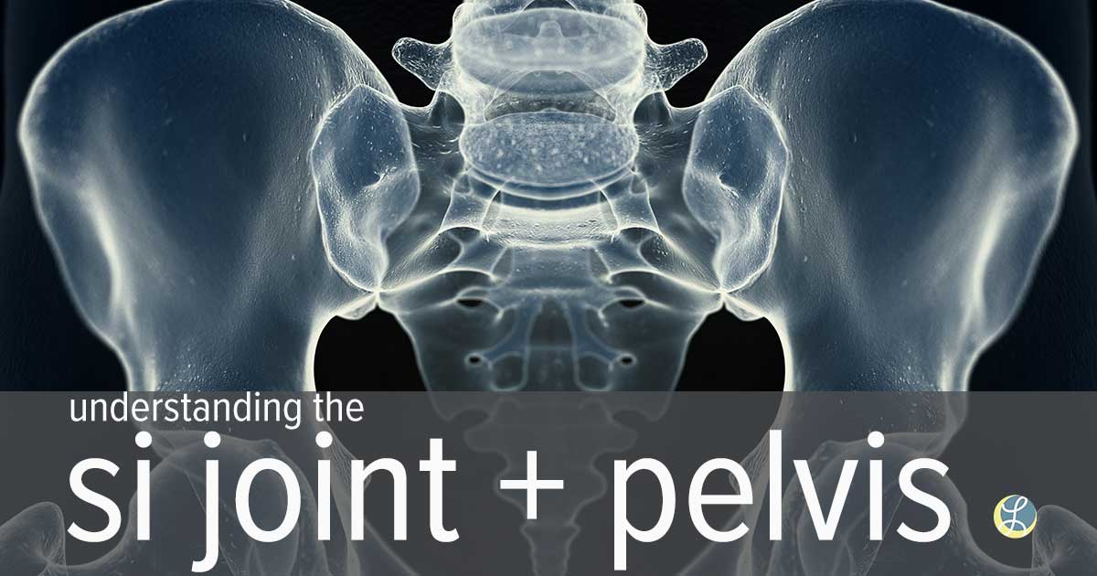 x-ray of a pelvis, si joint title=