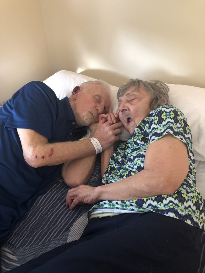 parents sleeping