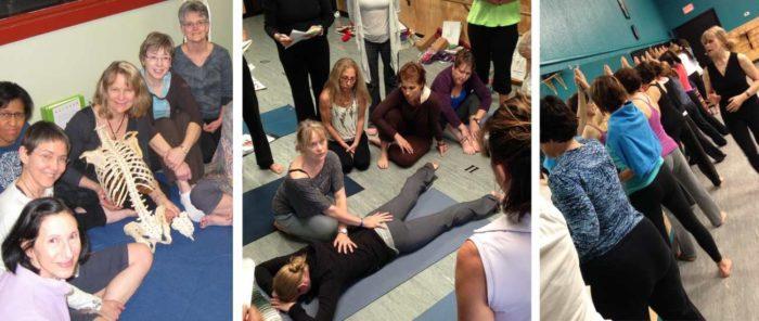 jenny otto and yoga teachers study movement therapy