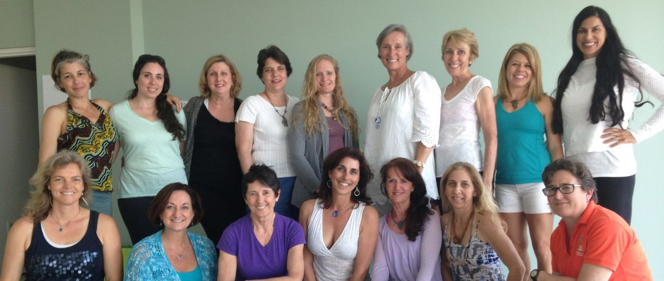 women graduated from yoga therapy training in jacksonville fl