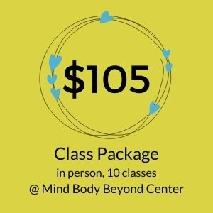 pay for a package of 10 in-person classes with Lisa Long
